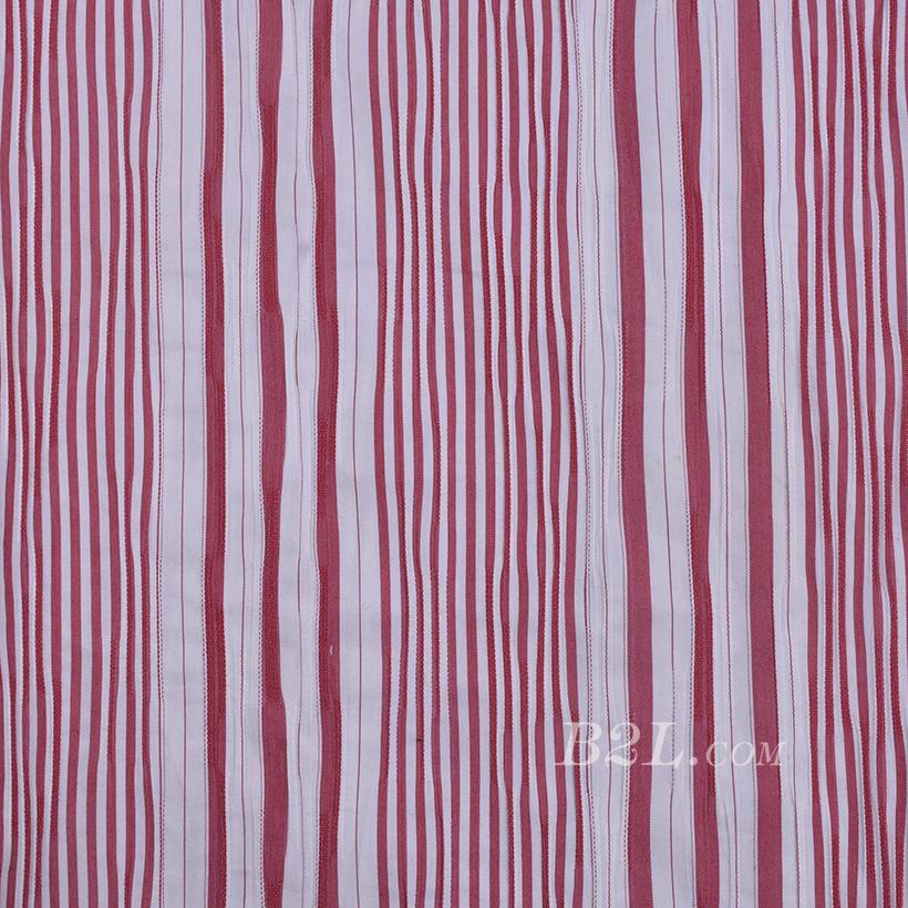 现货 梭织 色织 条纹 斜纹 无弹 春秋 女装 连衣裙 外套 衬衫 80114-23