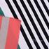 针织染色圆机弹力横条定位纹罗纹面料-春夏秋针织衫T恤连衣裙面料60312-72
