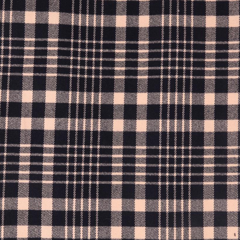 梭织染色斜纹格子面料-春夏秋半身裙衬衫外套面料70410-86