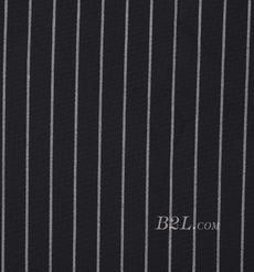 双面 条子 微弹  色织 梭织 春秋 西装 外套 半裙 女装 80623-28