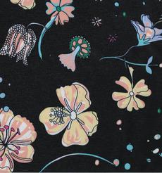 期货 印花 花朵 低弹 连衣裙 外套 女装 60804-69