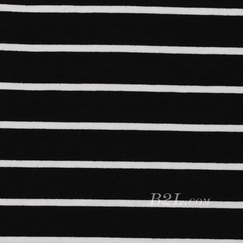 针织染色圆机罗纹条纹面料-春秋冬针织衫休闲服面料60312-9