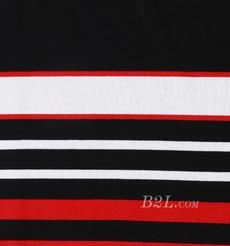 条子 横条 圆机 针织 纬编 T恤 针织衫 连衣裙 棉感 弹力 定位 罗纹 期货 60312-67