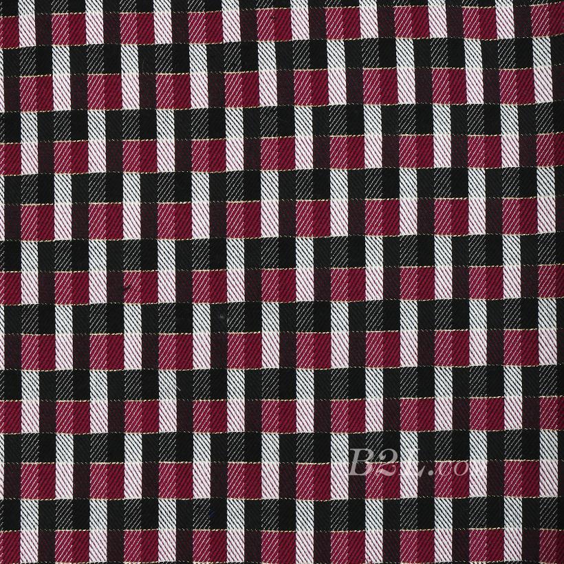 格子 提花 色织 女装 外套 大衣 春秋 60409-51