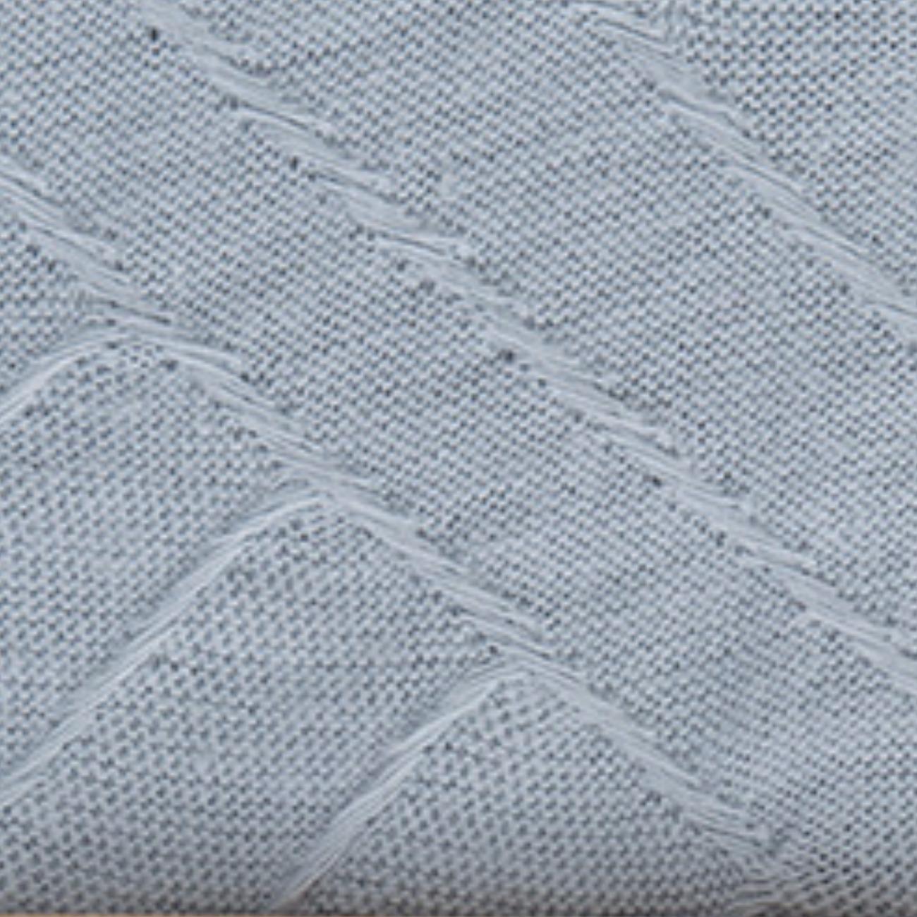 春夏新款 145g几何提花纯棉布料 女装连衣裙休闲服时装针织面料