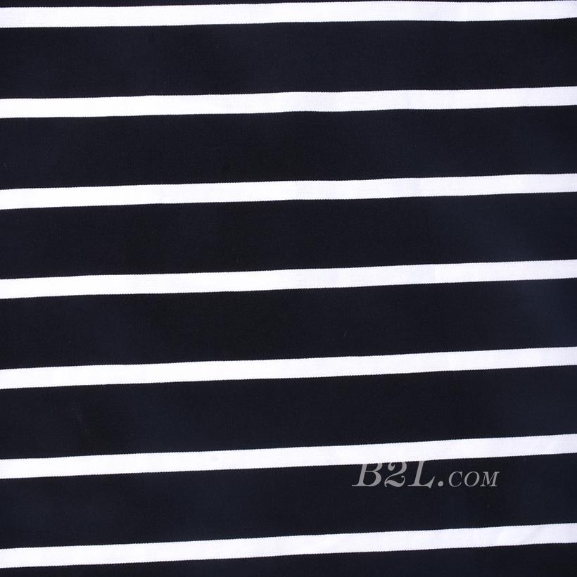 条子 横条 圆机 针织 纬编 T恤 针织衫 连衣裙 棉感 弹力 期货 60312-16