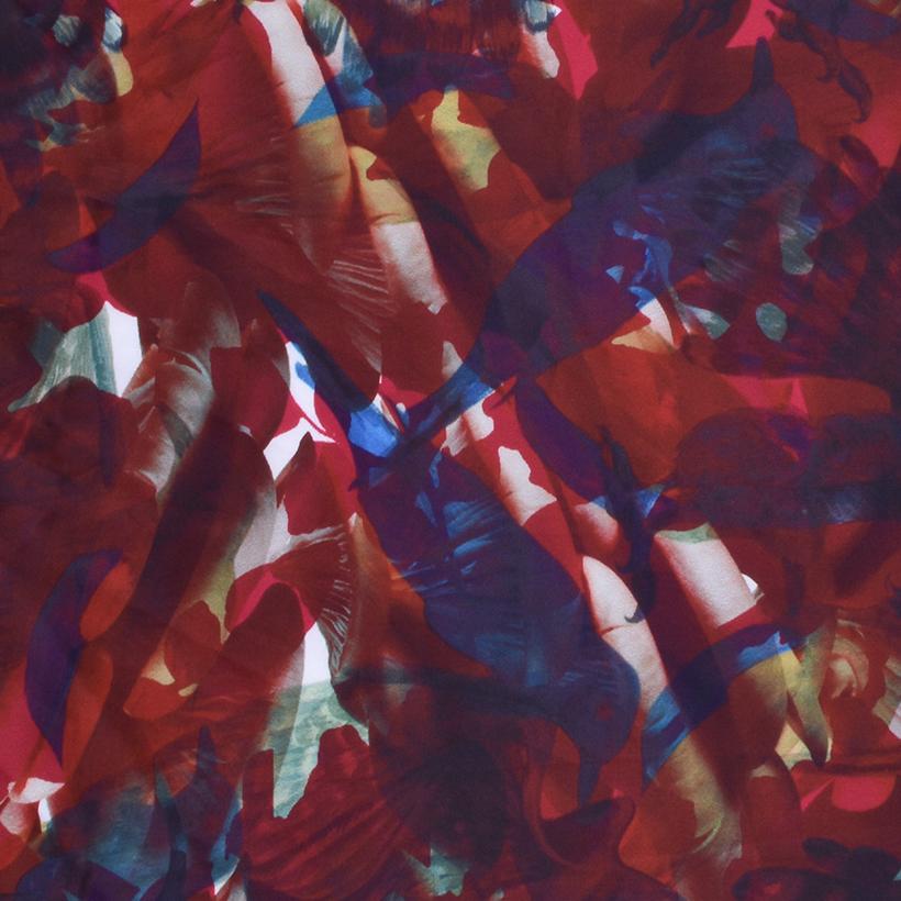 抽象 期货 梭织 印花 连衣裙 衬衫 短裙 薄 女装 春夏 60621-120