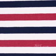 条子 横条 圆机 针织 纬编 T恤 针织衫 连衣裙 棉感 弹力 期货 60312-168