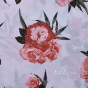 人棉期货花朵梭织印花无弹衬衫连衣裙 短裙 薄 棉感 70531-39