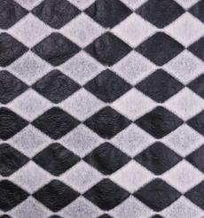 菱形 呢料 柔軟 羊毛 大衣 外套 女裝 70427-18