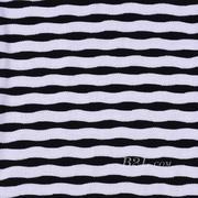 条子 横条 圆机 针织 纬编 T恤 针织衫 连衣裙 棉感 弹力 期货 60312-100