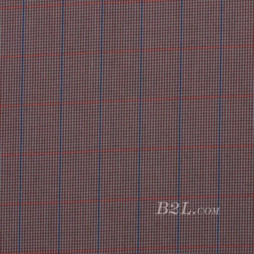格子 棉感 色织 平纹 外套 衬衫 上衣 70622-23