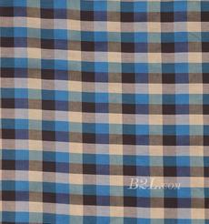 格子 棉感 色织 平纹 外套 衬衫 上衣 70622-162