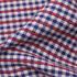 格子 棉感 针织 平纹 外套 大衣 短裙 70622-42