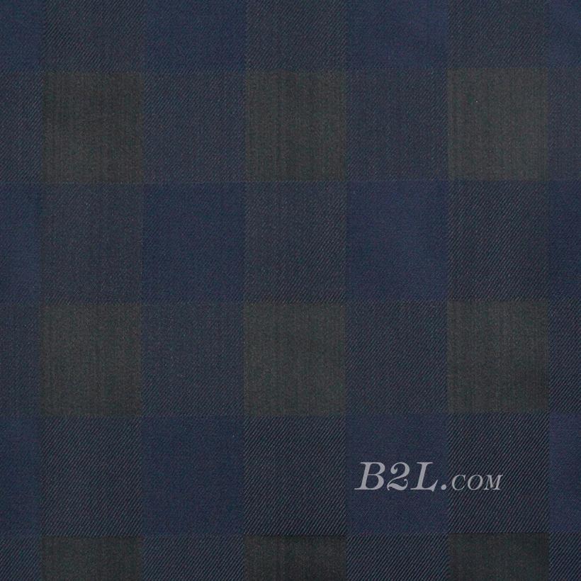 格子 棉感 色织 斜纹 外套 衬衫 上衣 70622-93