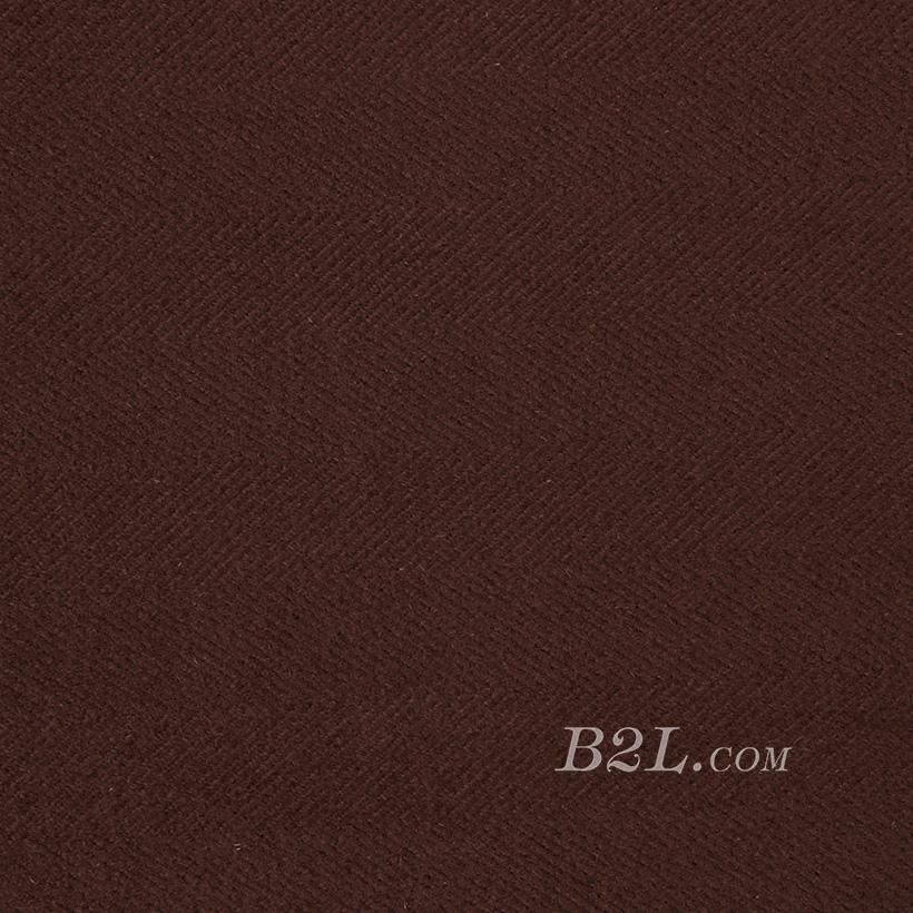 素色 人字纹 无弹 毛纺 柔软 绒感 大衣 外套 短裙 女装 秋冬 71127-12