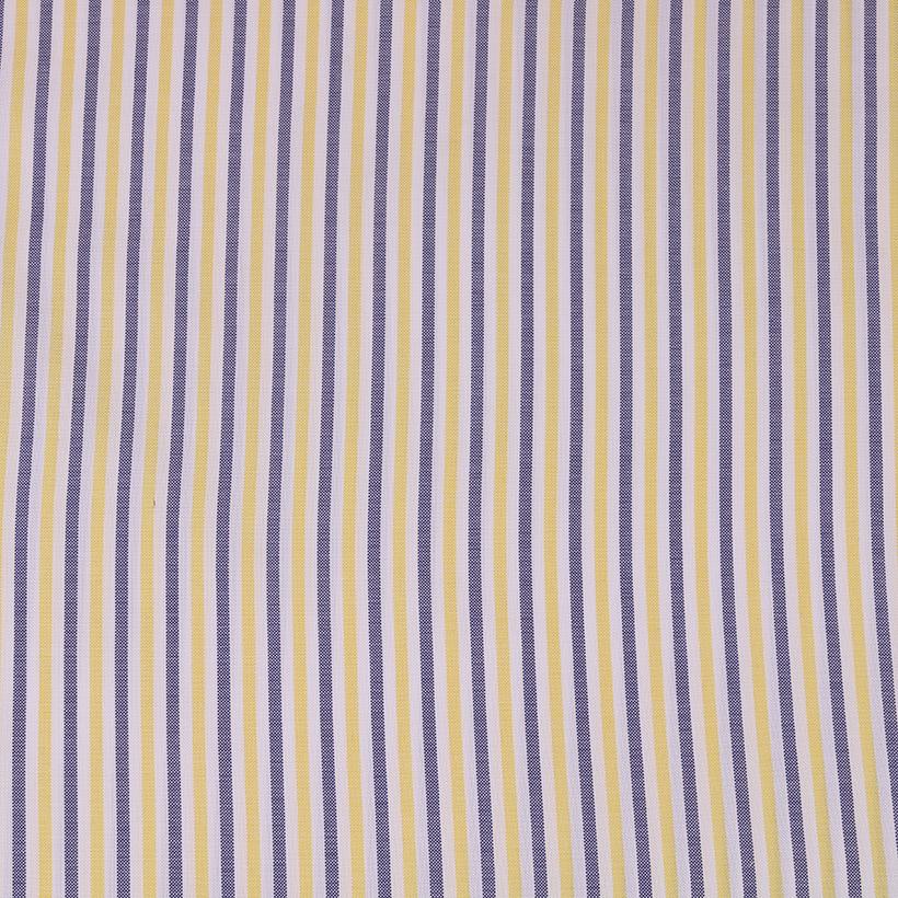 条子 梭织 色织 无弹 休闲时尚风格 衬衫 连衣裙 短裙 棉感 薄 全棉色织布 春夏秋 60929-127