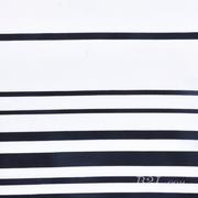 条子 横条 圆机 针织 纬编 T恤 针织衫 连衣裙 棉感 弹力 期货 60312-23