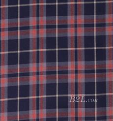 格子 棉感 色织 平纹 外套 衬衫 上衣 70622-126