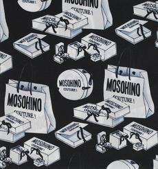 期货 印花 MOSOHINO 全涤 梭织 无弹 雪纺 轻薄 连衣裙 衬衫 女装 60804-17