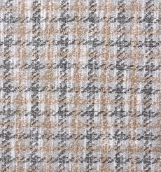 毛纺 针织 染色 小香风 格子 秋冬 时装 大衣 外套 91014-5
