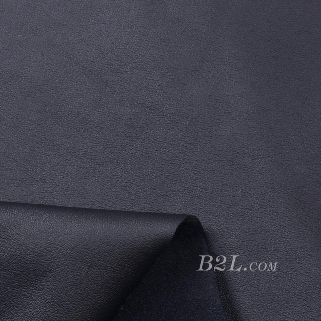 梭织染色皮革面料-春秋裤装半身裙外套面料91115-26