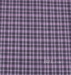 格子 棉感 色织 平纹 外套 衬衫 上衣 70622-130