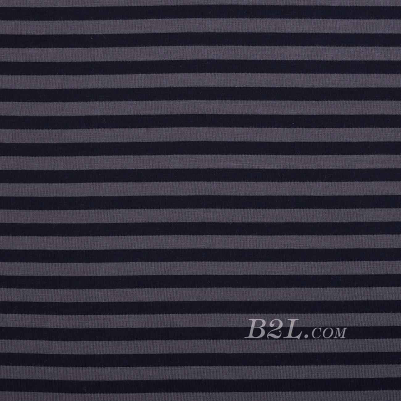 印花 针织 染色 条子 细腻 薄 家居 睡衣 春夏秋 男装 女装 80312-3