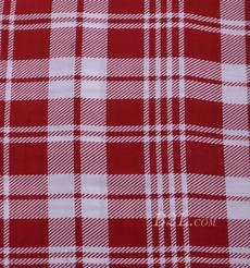 人棉期货格子梭织印花无弹衬衫连衣裙 短裙 薄 棉感 70531-42