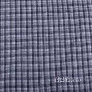 梭织 格子 棉感 色织 斜纹 无弹 外套 衬衫 大衣 裤子 60620-15