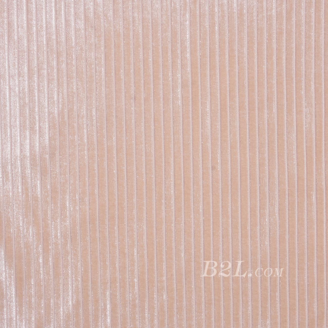 条纹 针织 染色 低弹 绒感 春秋 连衣裙 时装90306-17