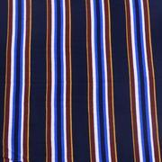 人棉 期貨 條紋 梭織 印花 無彈 襯衫 連衣裙 短裙 薄 棉感 70522-60