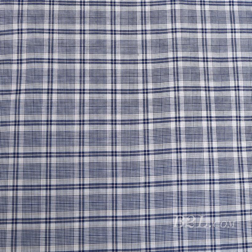 格子 棉感 色织 平纹 外套 衬衫 上衣 70622-10