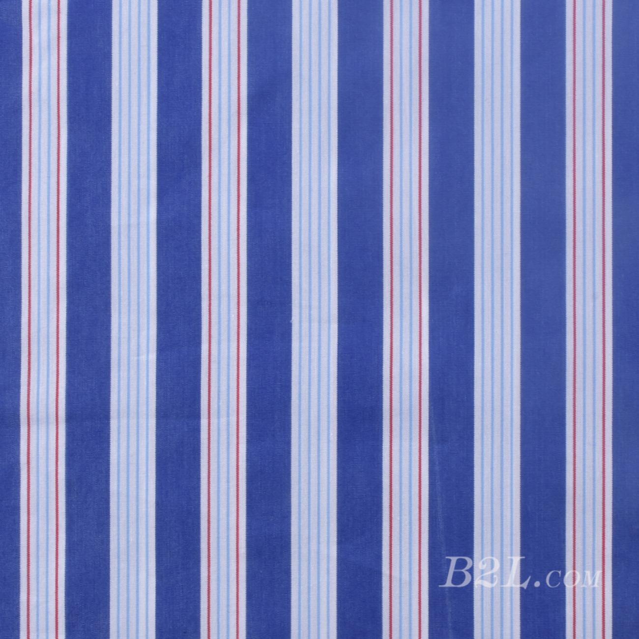 梭织染色条纹面料-春夏连衣裙衬衫面料S313