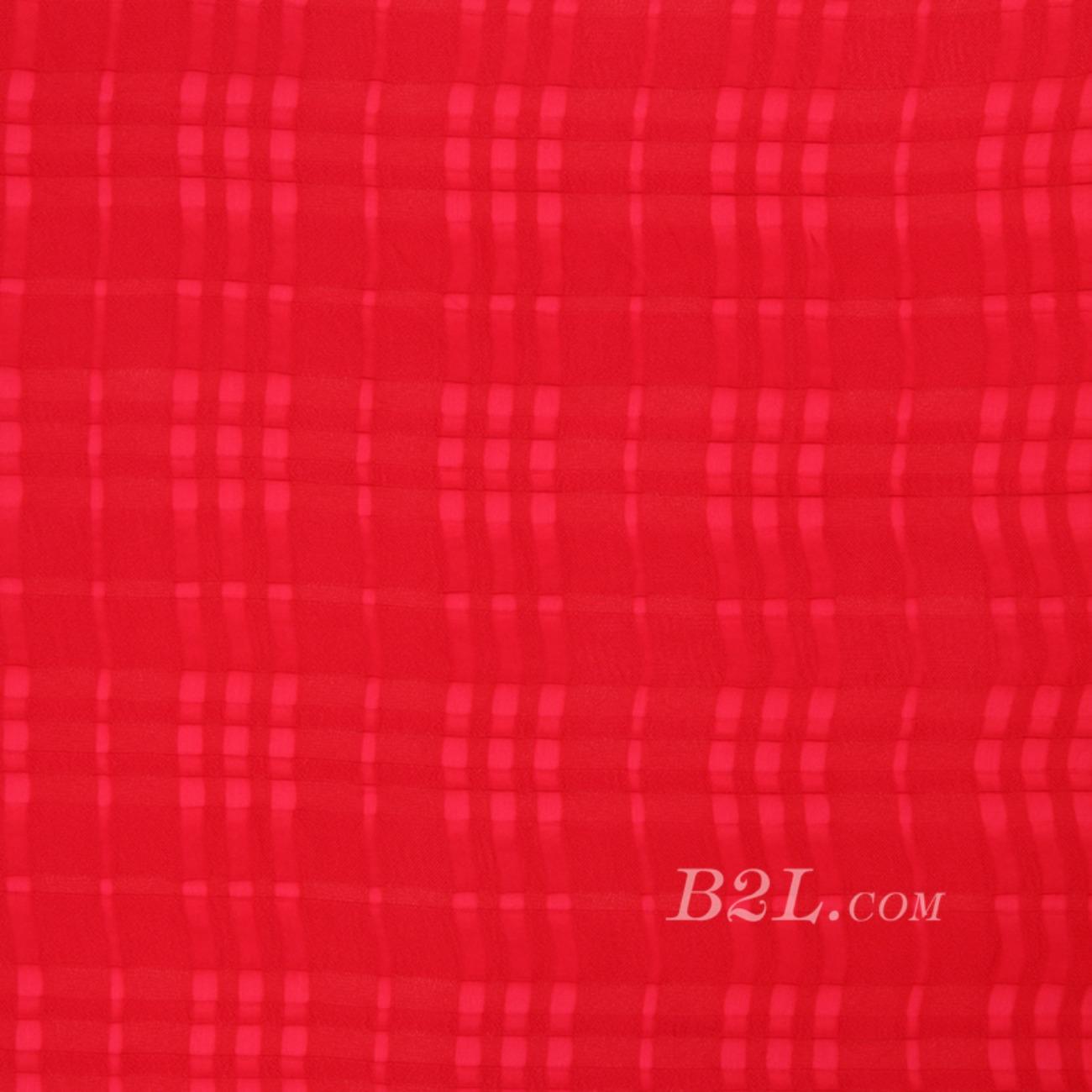 平纹梭织格子染色连衣裙 短裙 衬衫 无弹 春 秋 柔软 70724-13