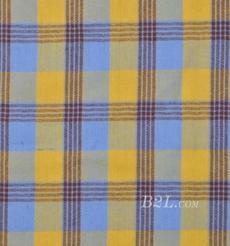 格子 梭织 色织 斜纹 无弹 春秋 时装  女装 连衣裙 90826-26