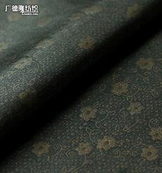 广德隆TJ254 涤氨经编弹力烫金面料 家庭装饰桌布台布套罩 礼服裙子裤子上衣外套