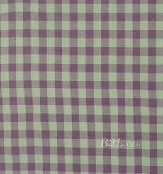 格子 梭织 色织 无弹 春秋 时装 女装 衬衫 90826-13