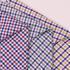 格子 梭织 色织 无弹 休闲时尚风格 衬衫 连衣裙 短裙 棉感 薄 全棉色织布 春夏秋 60929-126