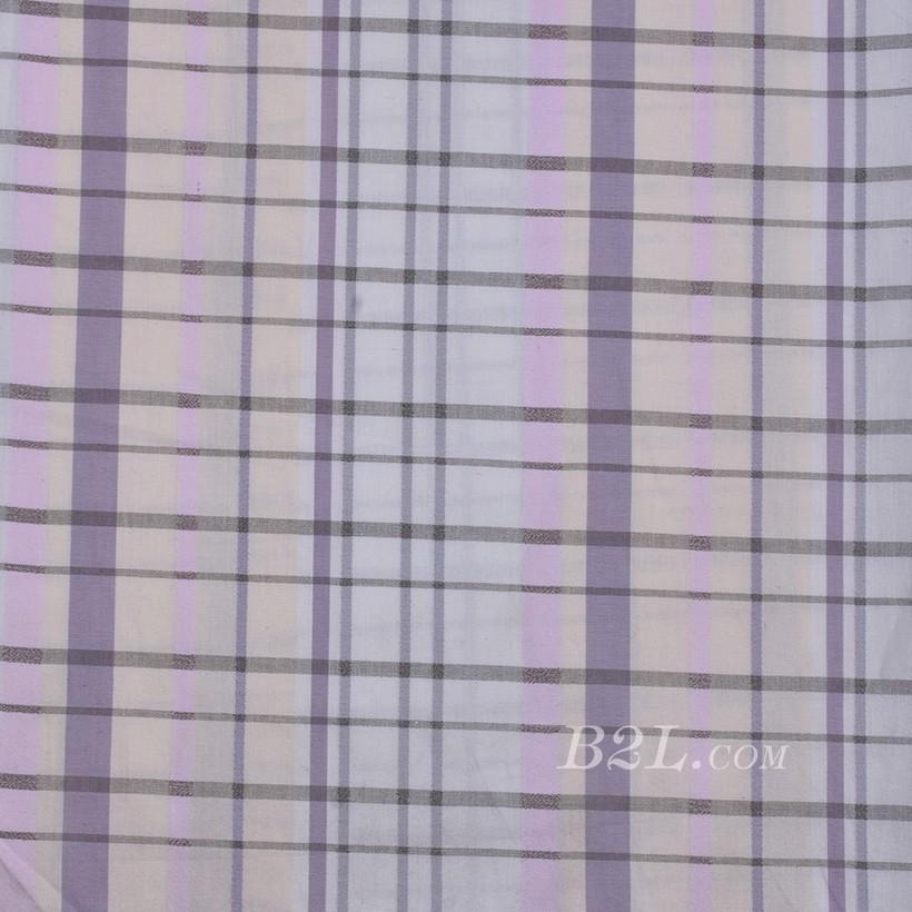 格子 棉感 色织 平纹 外套 衬衫 上衣 70622-183