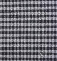 針織染色格子人字紋面料-春秋冬大衣外套休閑服面料Z743