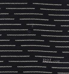 印花 梭织 染色 全桑蚕丝 字母 低弹 细腻 12姆米 春夏秋 连衣裙 外套 90217-57