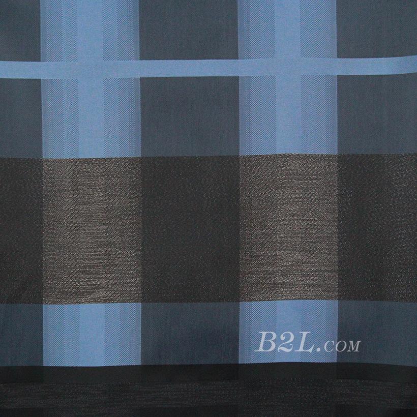 格子 涤棉 低弹 色织 衬衫 外套 70622-103
