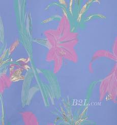 提花 梭織 色織 花朵 金線 銀線 全滌 無彈 春夏秋 禮服 連衣裙 外套 女裝 80408-6