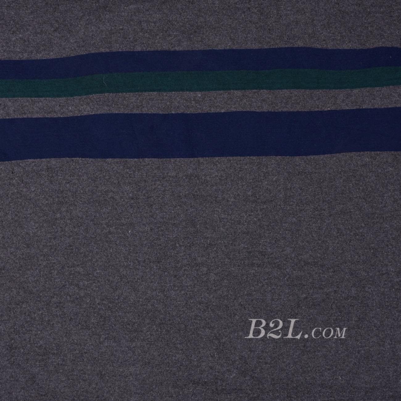 期货 针织 双面 条子 高弹 棉感 连衣裙 T恤 女装 80509-17