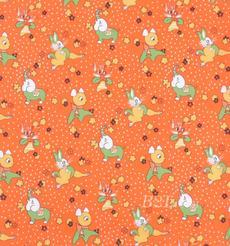 印花 色织 染色 薄 小动物 兔子 猫 鹿 大象 数码印花 春夏 连衣裙 半裙 女装 裤装 90619-2