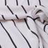人丝 条子 微弹 色织 梭织 春秋 衬衫 外套 连衣裙 女装 80623-59