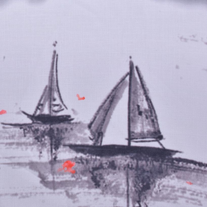 帆船 期货 梭织 印花 连衣裙 衬衫 短裙 薄 女装 春夏秋 60621-215