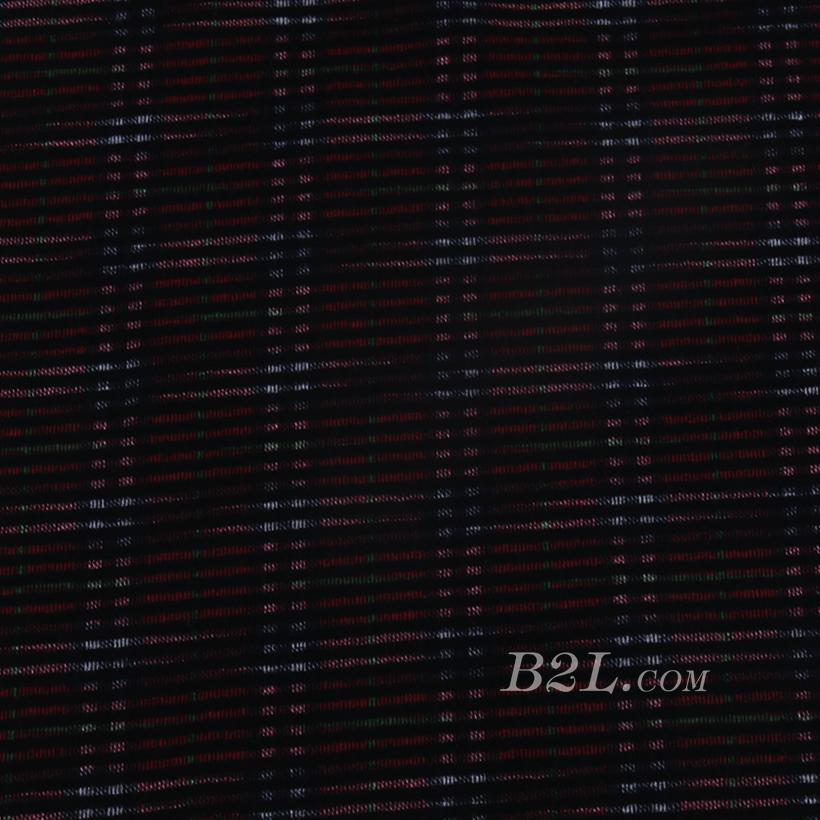 針織染色條紋面料-春秋冬休閑服連衣裙針織衫面料60311-68