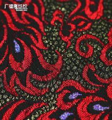 廣德隆TJ099 全滌蕾絲復合涂金粉底燙金面料 家庭裝飾桌布臺布手袋箱包綁帶 外套禮服裙子褲子夾克帽子鞋子